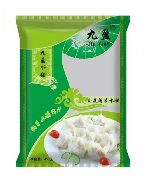 速冻白菜海米水饺