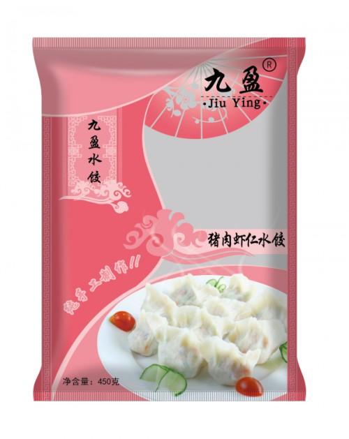 速冻猪肉虾仁水饺